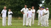 Who are they going to send in next? The Pymoor Cricket Team await the next Wilburton batsman 2008.