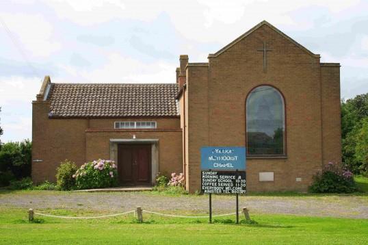 Pymoor Methodist Chapel, Main Street, Pymoor, 2008.