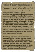 Extract from the Little Downham Parish Magazine about the new Men's Club in Pymoor.