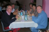 The winning team at the 'Bygone Quiz' at the Pymoor Methodist Church, Main Street, Pymoor, 2008.