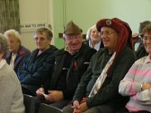 Alan Butcher and Roger Davis of Pymoor, wearing Medieval hats at meeting of the Little Downham Good Companions, 2008