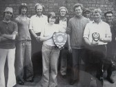 Pymoor Fishing Club. Presentation of the Fishing Shield circa 1975.