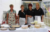 The Pymoor Social Club 'Catering Ladies' at the Pymoor Show 2008.