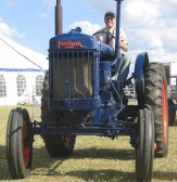 John Bye at the Pymoor Show 2008.