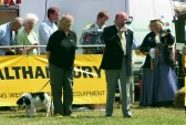 Jim Paice MP presents the Prizes at the Pymoor Show 2008.