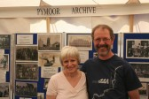 Greg Chpman and his wife visit the PymoorArchive Goup stand at the Pymoor Show 2008.