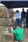 Air Rifle shooting at the Pymoor Show 2008.