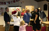 A butterfly made a surprise appearance at the Pymoor Social Club Christmas Bazaar 2008.