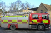 The village of Pymoor is well served by the Cambridgeshire Fire and Rescue Service. This appliance comes from Ely Fire Station.. Scania water tender