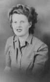 Betty Golding of Pymoor. 1946
