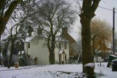21, Pymoor Lane, Pymoor, after the heaviest fall of snow seen in the village for many years 2009.