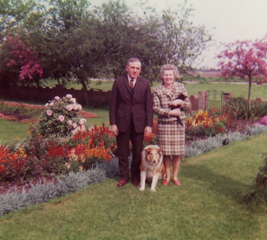 Sid & Betty Golding of Pymoor.