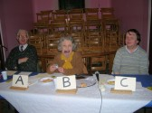 A very successful 'Bygone Quiz' was held at the Pymoor Methodist Chapel, in Main Street, Pymoor. Reg Brown and his family were the Quiz masters 2009.