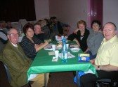 Another team at the 'Bygone Quiz' in the Pymoor Methodist Chapel, Main Street, Pymoor 2009.
