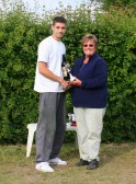Tom Freeman took 2nd Prize at the Oxlode Fishing Lakes, 15th Annual Charity Shield Fishing Match 2009, Oxlode, Pymoor.