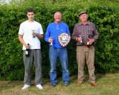Tom Freeman, Bruce Kent & Ray Ayers were the Winners of the Oxlode Fishing Lakes, 15th Annual Charity Shield Fishing Match, Oxlode, Pymoor 2009.
