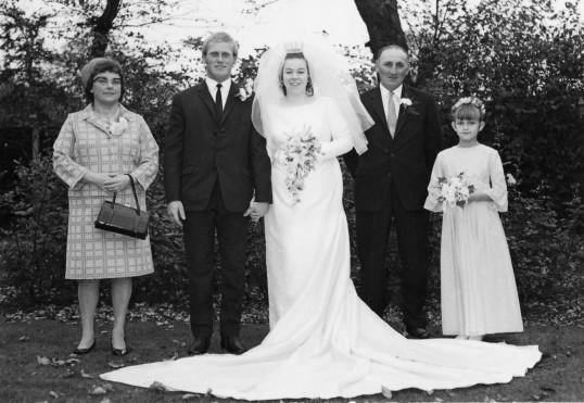 The wedding of Eric & Alocha Barker of Pymoor.