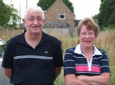 Alan and Joan Butcher of Pymoor at the Good Companions Potato Competition 2009.