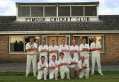 Pymoor Cricket Team 2009 after beating Wimblington CC to finish runners up in their league and gaining promotion to Division 1.