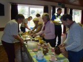 The Pymoor Social Club held a Coffee Afternoon to raise funds for the MacMillan Cancer Support Charity 2009.