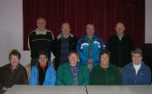 The Pymoor Archive & Camera Group, with their spouses, at the Methodist Chapel in Pymoor 2009.