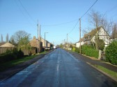 Main Street, Pymoor, looking north towards the crossroads. 2009