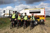 The Cambrigeshire Search & Rescue Team carried out a training exercise in the Droves and fields around Pymoor.