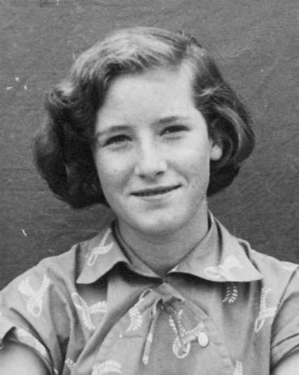 Joan Butcher ( nee Goodjohn )  of Pymoor aged 14 years.
