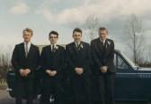 Eric Barker, Roger Parson,John Barker & Roger Barker of Pymoor, 1967.