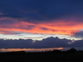 Another beautiful fenland sky seen from Main Drove, Pymoor.