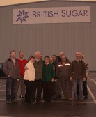 Pymoor farmers & friends enjoyed their trip around the British Beet Sugar factory at Wissington.