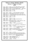 Pymoor & Coveney Methodist Churches Services & Program Events for 2010. (Page 1)