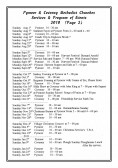 Pymoor & Coveney Methodist Churches Services & Program Events for 2010. (Page 2)