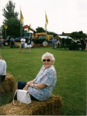 Joan Saberton at the 1st Pymoor Agricultural & Country Show 1999.