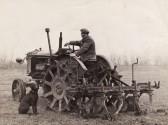 Harry Barker of Pymoor on Welches Farm.