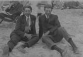 Horace Barrett & Harold Taylor of Pymoor.