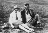 Minnie & Harry Barker of Pymoor, circa 1925