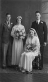 The wedding of Ivy & Cyril Breeze of Pymoor.