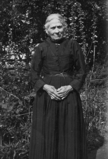 Eliza Martin of Pymoor, aged 73 years, circa 1923