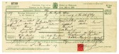 Marriage Certificate of Horace Albert Martin & Daisy Cornwell of Dunkirk, Pymoor.