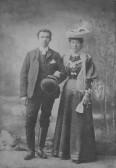 Ernie & Rachell Merrill of the Hundred Foot Bank, Pymoor.