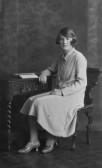 Ivy Martin of Pymoor, circa 1928.