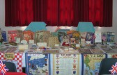 WW 2 Memorabilia on display at the Pymoor & Coveney Methodist Churches D-Day Celebration Tea at the Chapel in Main St. Pymoor.