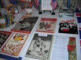 WW 2 Memorabilia on display at the Pymoor & Coveney Methodist Churches D-Day Celebration Tea at the Chapel in Main St. Pymoor 2010.