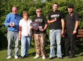 The winners of the 16th Annual Charity Fishing Match at Oxlode Lakes, Oxlode, Pymoor 2010.