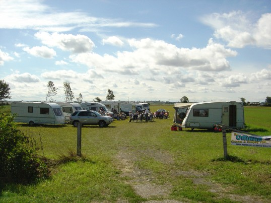 The Omaha Camping & Caravan Group are frequent visitors to Pymoor & camp in a field off Pymoor Lane & enjoy the facilities at the Pymoor Cricket Club.