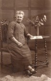 Mary Jane Harrison, who lived next door to the Knife & Steel Public House in Main Street, Pymoor.