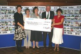 Pymoor Agricultural & Country Show 2010 Charity Cheque Presentation Evening held in the Pymoor Cricket Club House, Pymoor Lane, Pymoor.