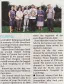 Article in the Ely Standard about the Roger Parson Memorial Fishing Match 2010 held at Oxlode Fishing Lakes, Oxlode, Pymoor.