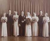 The Wedding of Ivy Rogers of Pymoor.